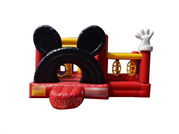 inflatable disney mickey jumper