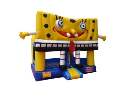 inflatable spongebob bouncer