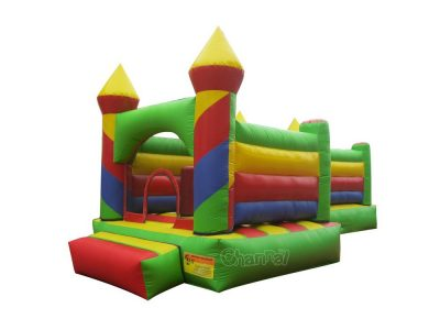 inflatable colorful castle bouncer