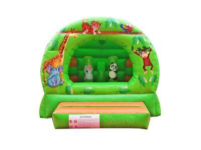 jungle animal inflatable bouncer