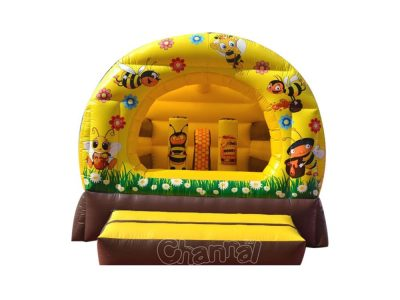 bee flower moon bounce