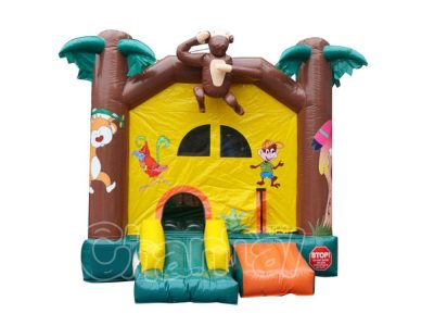 forest animals inflatable bounce jumper