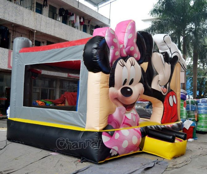 mickey mouse minnie mouse bouncer