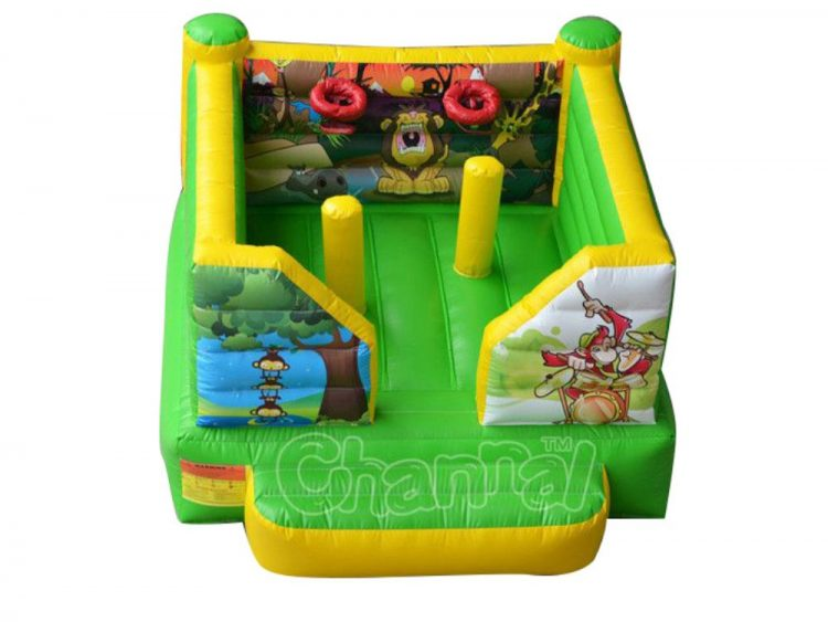 inflatable african animals theme bouncer