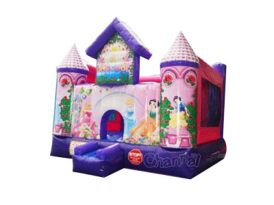 disney princess inflatable castle bouncer