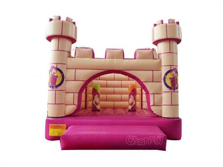 witch castle inflatable bouncer