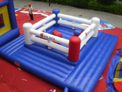 kids inflatable boxing ring