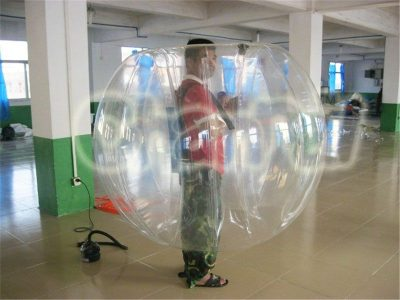 full transparent bumper ball