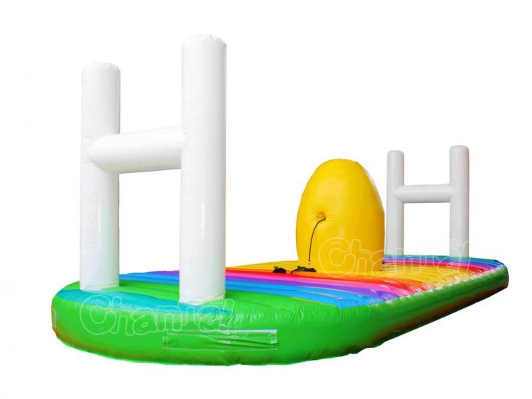 rugby inflatable bungee run