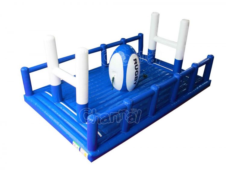 rugby bungee run