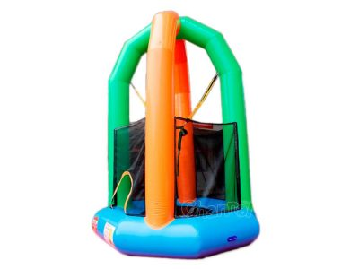 single inflatable bungee trampoline