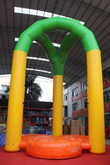 inflatable bungee jumping for both adults and kids
