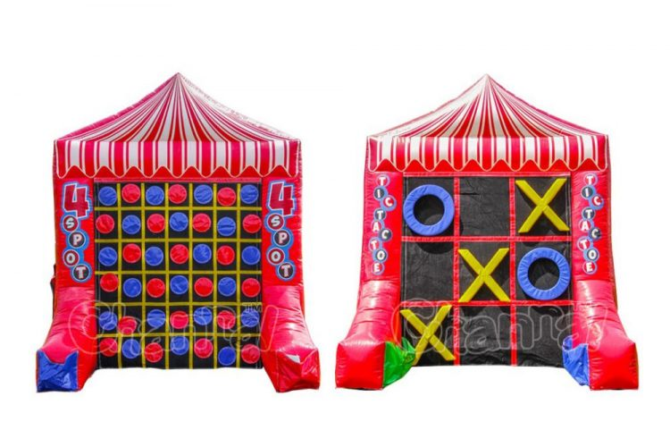 inflatable 4 spot and tic tac toe