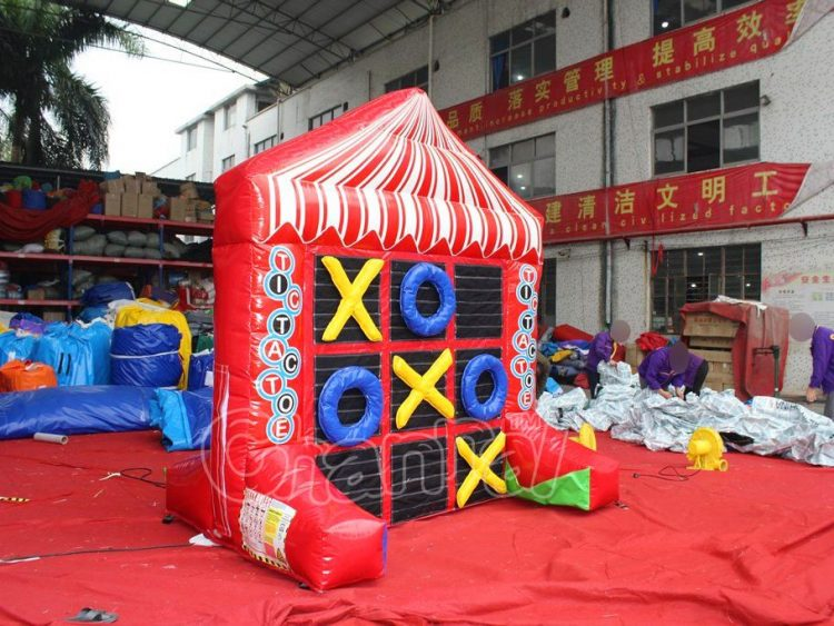 tic tac toe carnival game board