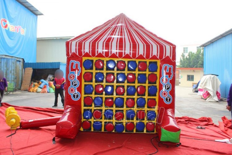 inflatable 4 spot game