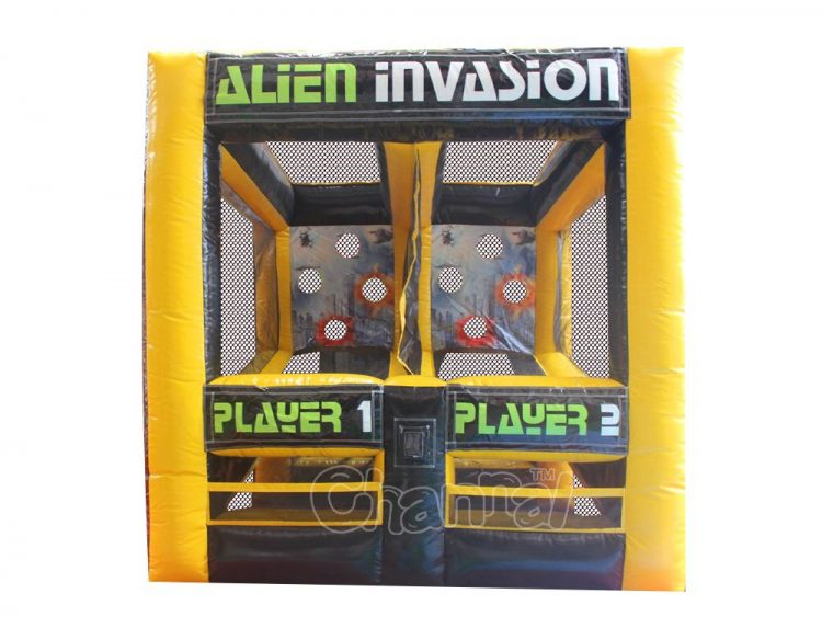 alien invasion inflatable carnival shooting game