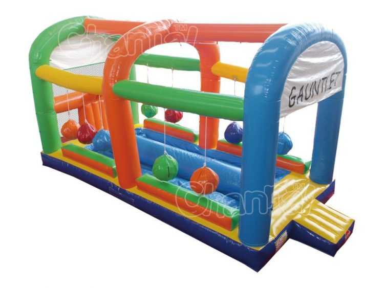 inflatable run the gauntlet game