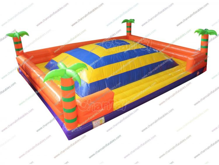 king of hill challenge inflatable game