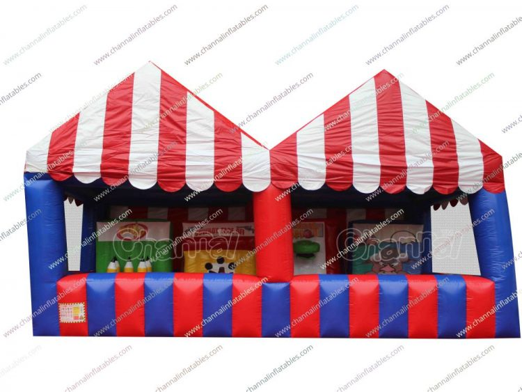 inflatable carnival game booth