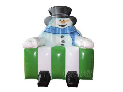 inflatable snowman chair for sale