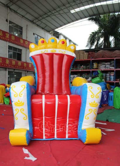 blow up king's throne for kids