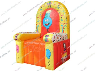 inflatable birthday chair for kids special day party