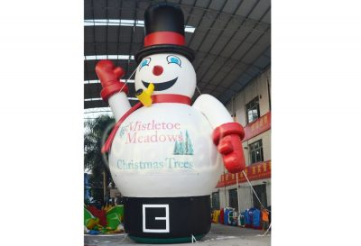 giant advertising inflatable snowman