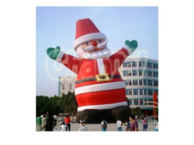tall giant inflatable santa claus outdoor