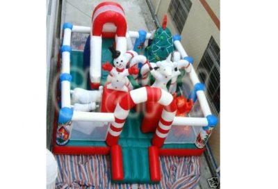 inflatable christmas theme combo