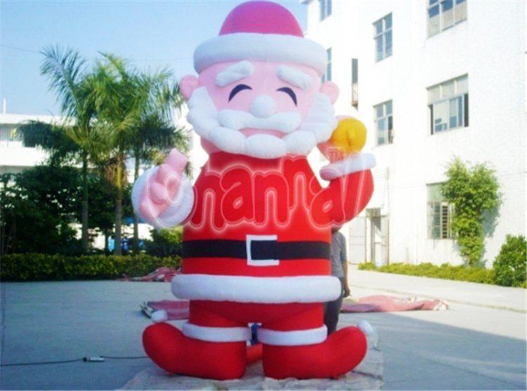 inflatable gracious santa