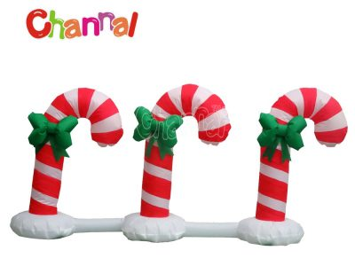 inflatable christmas candy canes