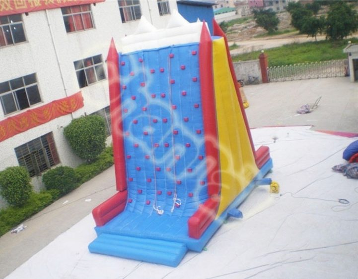 double sides inflatable climbing wall