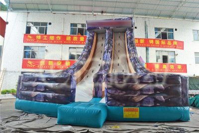inflatable slope climbing wall