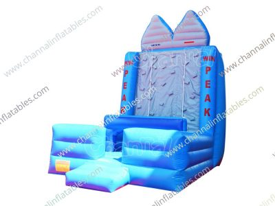 inflatable win peak climb wall