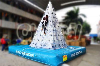 inflatable rock mountain climbing