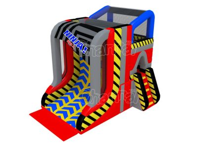 inflatable ninja warrior warped wall for sale