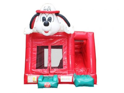 firehouse dog dalmatian inflatable combo for sale