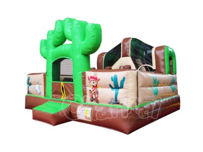 little cowboy inflatable combo