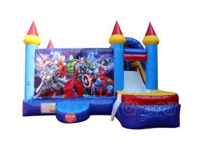 superhero water bounce house for sale