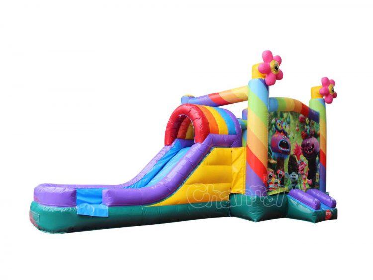 trolls water slide bounce house for sale