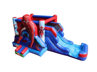 spiderman figure water bounce house for sale