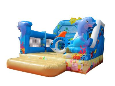 island beach inflatable combo for sale