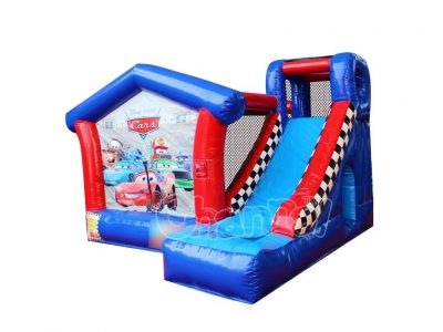 cars inflatable bouncer slide