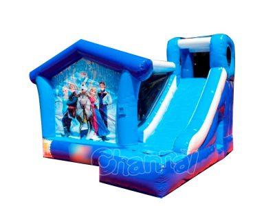 frozen inflatable bouncer slide
