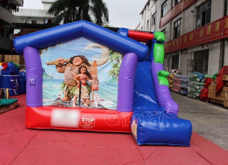 Moana and Maui small inflatable combo for kids