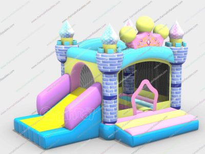 princess tiara inflatable combo for girls