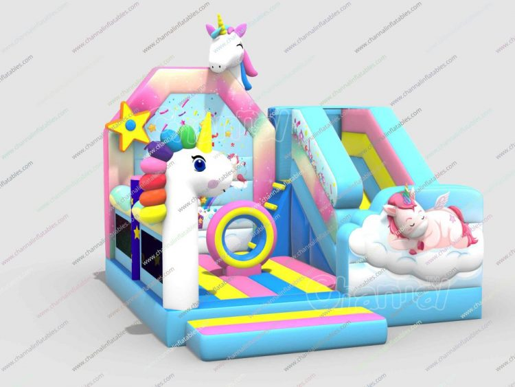 baby unicron inflatable combo