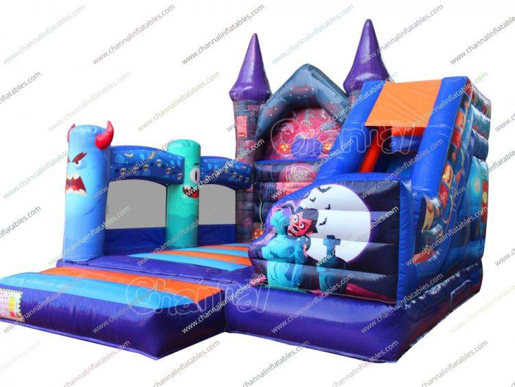 halloween night inflatable combo