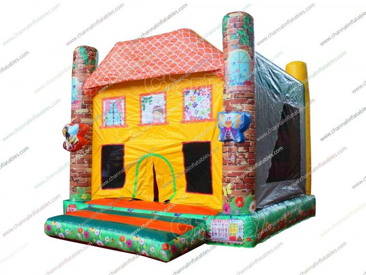 dream house inflatable combo