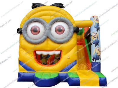 minion inflatable combo